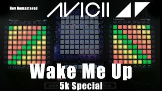 Avicii - Wake Me Up (Nev Remastered) Triple Launchpad PRO Cover + LaunchControl // 5k Special
