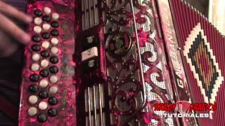 La vida prestada - Los Amables del norte (instruccional de acordeon)