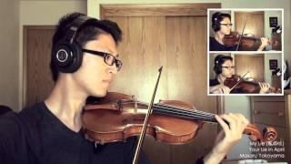 Shigatsu wa Kimi no Uso - My Lie [Violin Cover]