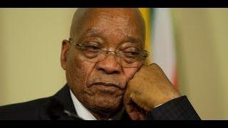 Jacob Zuma resigns,
