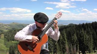 Bach Cello Suite No1, Prelude , (Michael Lucarelli - classical guitar)