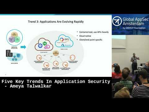 Five Key Trends In Application Security - Ameya Talwalkar