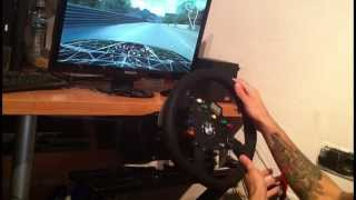 LFS Live For Speed South City Drift Fanatec CSW Clubsport Wheel