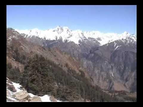 Frozen Lake above Lama Kholsi in Humla