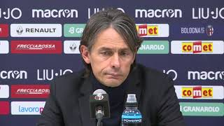 20190112 Inzaghi post Bologna - Juventus Coppa Italia