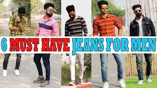 6 AMAZING jeans YOU NEED right now!  Best jeans for INDIAN men 2018 urban agbru width=