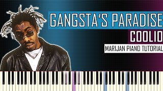 How To Play: Coolio - Gangsta's Paradise | Piano Tutorial