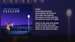 La La Land - Audition (Fools Who Dream) - Lyrics