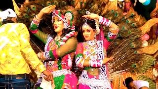 Beautiful Radha krishna jhanki | Natkhat Shri Bankey Bihari | Live Jagran Video | Aryan And Party