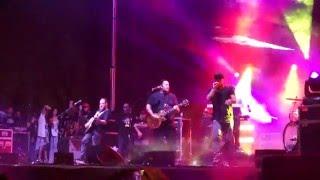 """Iration and Pepper cover """"Sweat (a la la la long)"""" live at the One Love Cali Reggae Fest 2/13/16"""