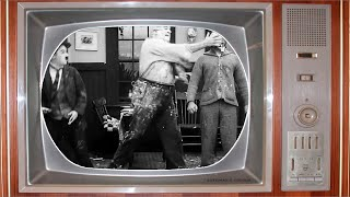 Silent Movies for kids - Pie Fight! (Charlie Chaplin)