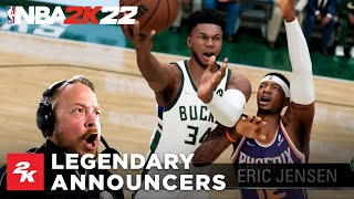 NBA 2K22 Reveals Teams\' PA Announcers With New Trailer