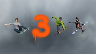 MyTP 3 - Snowboard, Freeski and Skateboard Game for iPhone, iPad and iPod touch [NOW AVAILABLE]