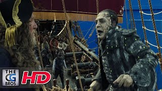 "CGI & VFX Breakdowns: ""Pirates of the Caribbean: Dead Men Tell No Tales"" - by MPC"