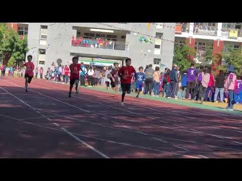 男生100公尺決賽