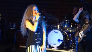 2017- Amanda Marshall concert- 15- Mercedes Benz by Janis Joplin