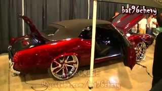 "Candy Apple Red Oldsmobile Cutlass DROPPED on 26"" Forgiatos - 1080p HD"
