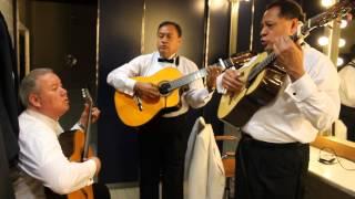 Los Panchos - Camerinos (Concierto León 2014)