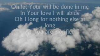 as long as you are glorified (lyrics)