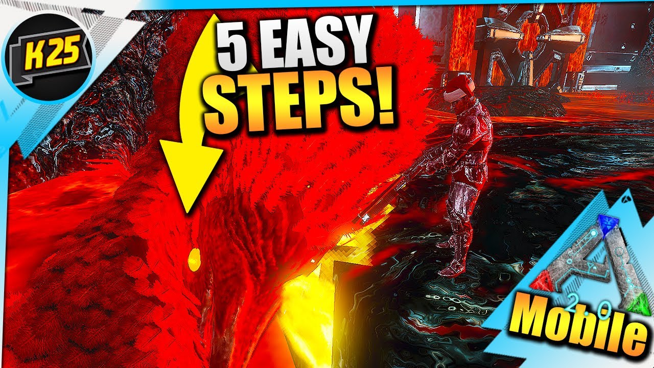 Kamz 25 - 5 Easy Steps To DEFEAT The Argentustus Boss| Ark Mobile Dungeons Tips