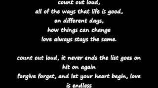 love is endless by mozella lyrics