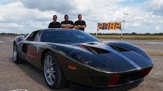 278 MPH Ford GT - TEXAS MILE RECORD!!   October 2013