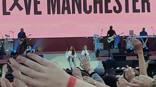 Ariana Grande and Victoria Monet - Better Days (One Love Manchester)