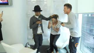 Pharrell's Most Surprising Meeting Ever!