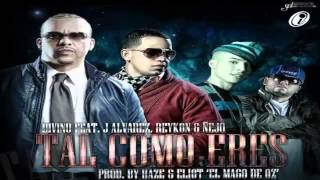 Tal Como Eres (Remix) - Divino Ft. J Alvarez, Reykon Y Nejo (Video Letra) ★Reggaeton 2013★ (SD)