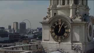 Royal baby: St Paul's Cathedral's bells ring out for Prince George