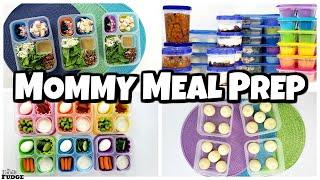 Mommy Meal Prep | Breakfast Lunch Snacks & Dinner