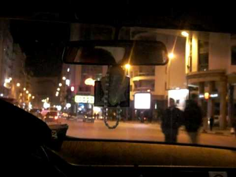 Moroccan Taxi Ride-Tangier