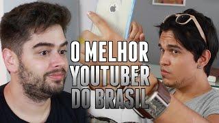 O MELHOR YOUTUBER DO BRASIL (ft Gusta Stockler)   Chico Rezende