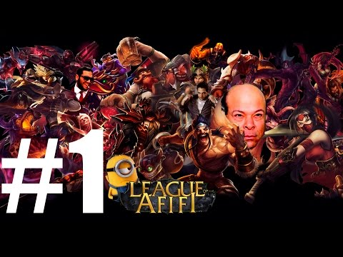 League of legends- Hesham Afifi #1- Minions version - #1#العف بيلعب ليج اوف ليجيندز
