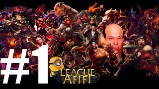 League of legends- Hesham Afifi #1- Minions version - #1#العف بيلعب ليج اوف ليجيندز