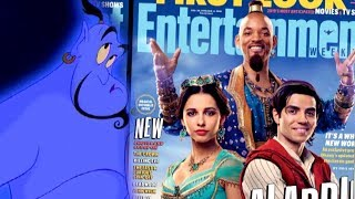 Aladdin: Will Smith Receives Backlash After First Genie Pics Drop