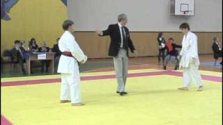 Shotokan Karate The Best Fights Russian Cup 2010