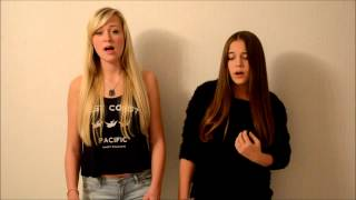 Christina Aguilera & A Great Big World- Say Something COVER Hanna und Susi Blue