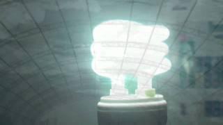 Light bulb experiment