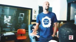 "Common invites friends to listening session for ""Letter To The Free""."