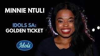 Minnie Ntuli | Idols SA Golden Ticket