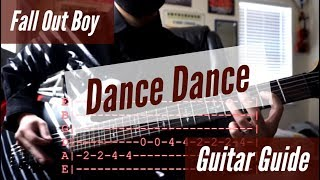 Fall Out Boy - Dance Dance Guitar Guide