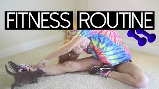 My Simple & Basic Fitness Routine | ft. Shape Up