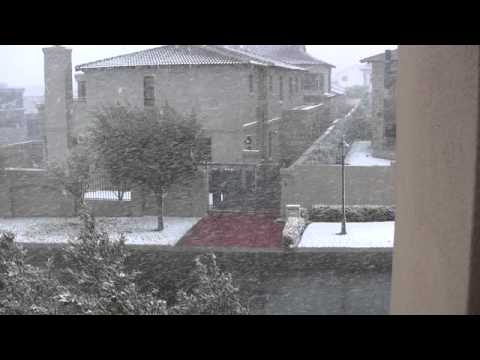 Snow in Johannesburg South Africa August 2012