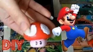 #VEDA28 - DIY Cogumelo (Mário Mushroom)