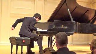 Scriabin Etude Op.8 No.12. Andrew Guo, 16, at Horowitz's Piano-Steinway CD-503