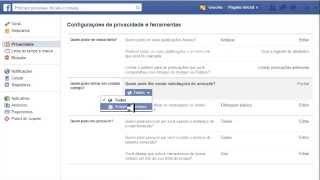 Bloquear pedidos de amizade feito por estranhos no facebook