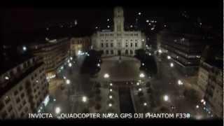 PORTO A NOITE DO AR QUADCOPTER PHANTOM F330 & GO PROHERO 3