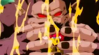 Dragon Ball Z : Vegeta se transforma en super Saiyan 4 (audio latino)