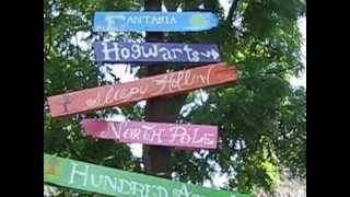 Backyard Craft - Fictional Places Signpost